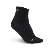 CRAFT Stay Cool Mid Sock BK- 2 pack
