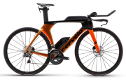 Cervelo P5 disc 2021 - rower triathlonowy Ultegra Di2 Orange Chameleon