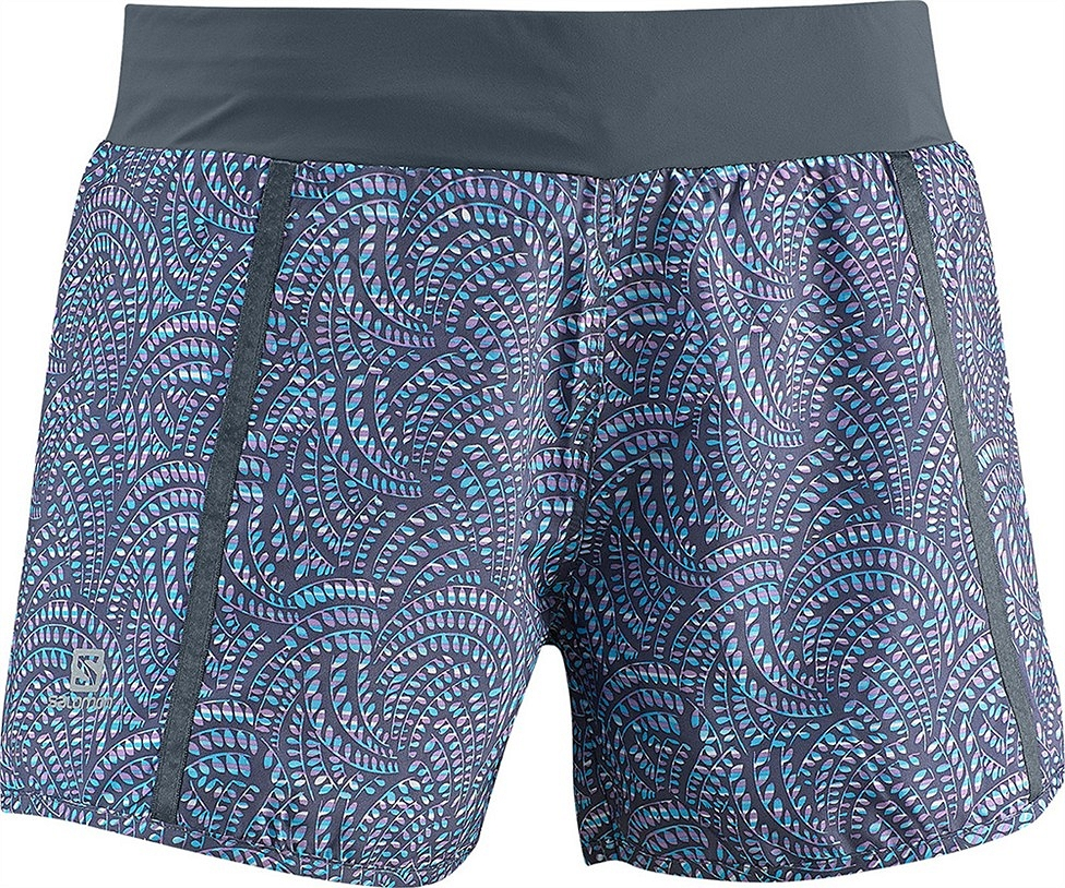 Salomon Park Short BLUE spodenki do biegania damskie