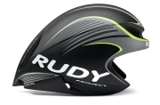 Rudy Project Wing 57 Black Yellow Fluo kask triathlonowy