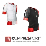 Compressport TR3 AERO TOP startowa koszulka triathlonowa